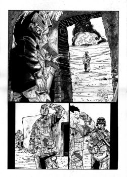 EOD Soldiers 01 - page - 24 ink by furuzono