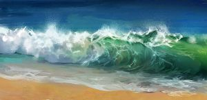 Study of waves by Elsouille