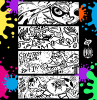 Splatoon Miiverse Art 1 by SPIRALCRIS