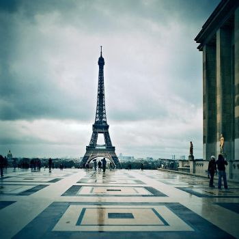 Paris by rain ... by julie-rc
