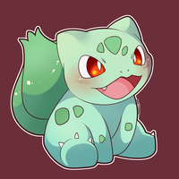 ART TRADE:  Bulbasaur by SeviYummy