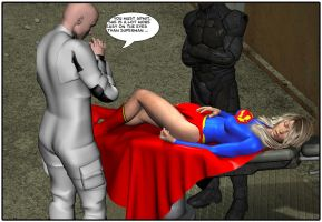 Supergirl Examination table by orionsforge