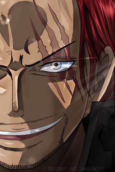 One Piece 903 Shanks Bounties Luffy V2 by Amanomoon