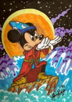 sorcerer mickey by jpbijos