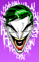 Joker Face 2016 by LucasAckerman