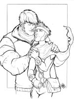 Wiccen And Hulkling Motor City 2012 by ComfortLove