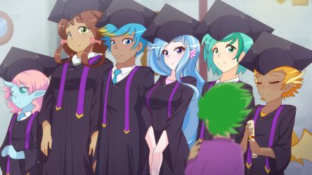 Graduation (MLPS8E26) by JonFawkes
