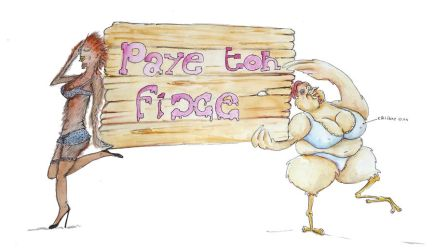 Poule Sexual Paye ton Fixe by Ptite-Lux