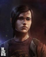the Last of Us - Ellie by thomaswievegg