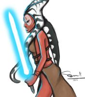 Shaak Ti's last days by furgy12