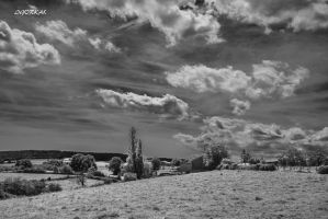 Sky And Hills by IgorKal