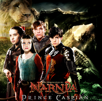 Prince Caspian promo: The Pevensies by Lily-so-sweet