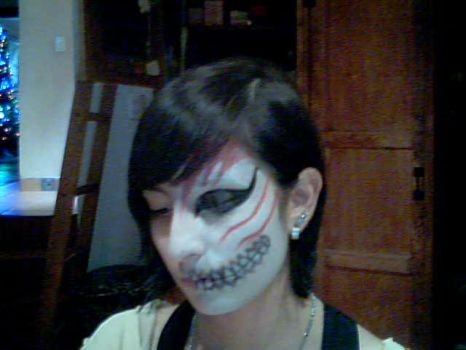 Ighigo Hollow mask makeup. (FAIL) by zhamestahl