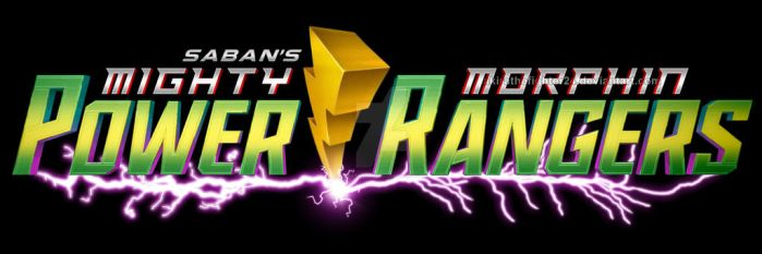 Updated Mighty Morphin Power Rangers Logo. by AkiraTheFighter24