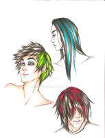 Hairstyles by Leftyhand