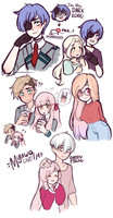BNHA | Doodle Page Two by Myuwa