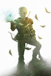 Forest rogue gnome by Straban