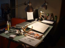 My Workspace - in use by Pimpypants