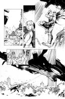 Batman Arkham Knight 31 page 3 Vik and Rich by Blasterkid