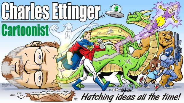Charles Ettinger banner art by CharlesEttinger