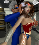 Dynamo Meets the New Ultra Woman 4 by ladytania