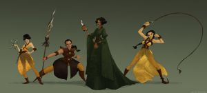 Sand Snakes Game of thrones by pain16