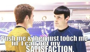 Spirk Satisfaction by unsalted