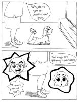 Under 4 Feet,  Playground Superheroes, Page 1 by LucyQ602