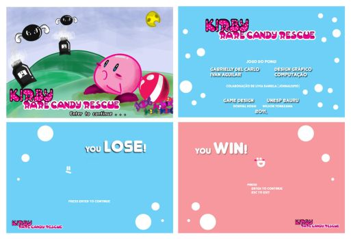 Game: Kirby Rare Candy Rescue by DelCarlo