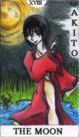 Tarot 18- The Moon -FB by Twisted-chan
