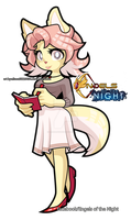 Sia in engels of the night NEW CHARACTER by eliana55226838