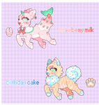 [ auction ]: sweet adopts | closed! by eggcellentegg