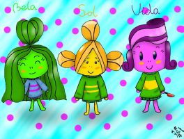 The Carioca Sisters (UT style) by YuliaRabbid