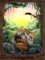 the jungle book by duridya