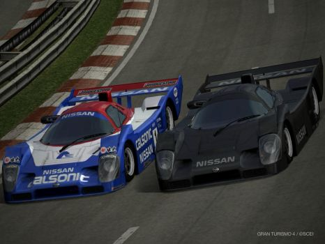 Nissan R92CP by GamePonySly