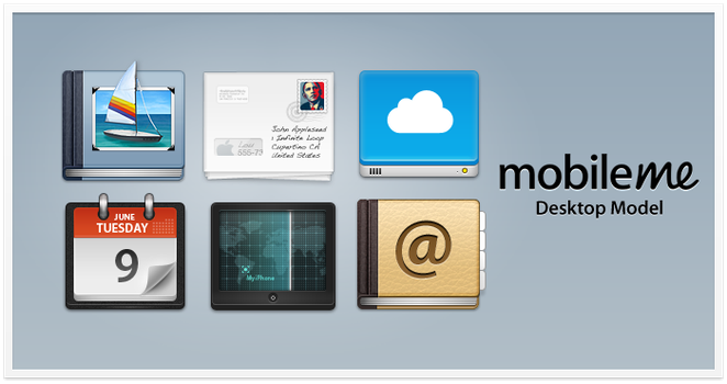 Mobile Me Icons by PraX-08