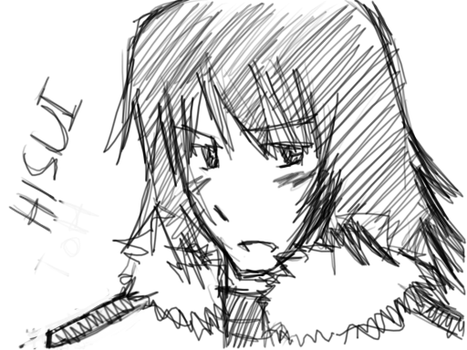 I fail drawing Hisui from ToH by apol8mlyn