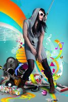 Color My World with Music by emulsi