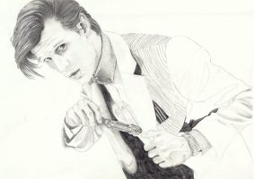 The Eleventh Doctor WIP 3 by Jucchan