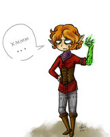 Inquisitor Lavellan doubts by zoiocen