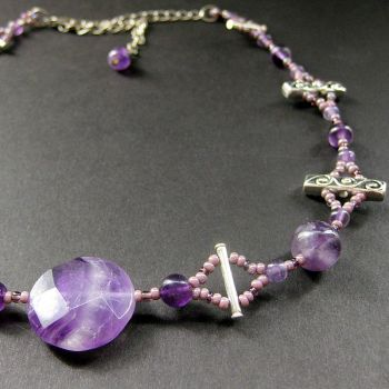 Amethyst Choker - The Eidolons by Gilliauna