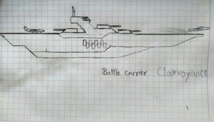 Battle Carrier Clairvoyance by Flyingtaco2002