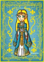 royal zelda by ninpeachlover