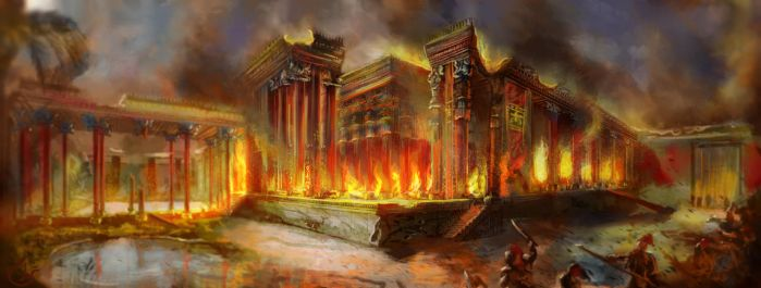 The Burning of Persepolis by IRCSS