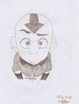 Charcoal Aang    Avatar by MEAltair