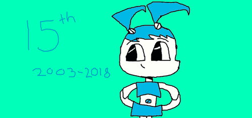 My Life as a Teenage Robot 15th Anniversary by Puffjaved02