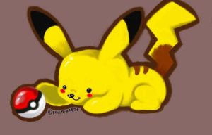 Pikachu by RighteousCoyote