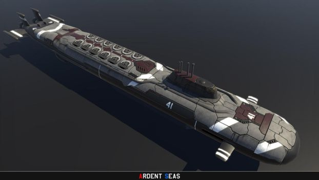 Project 41-class Boomer submarine by Helge129