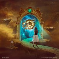 Secret Sphere - The Nature Of Time CD COVER by Wesley-Souza
