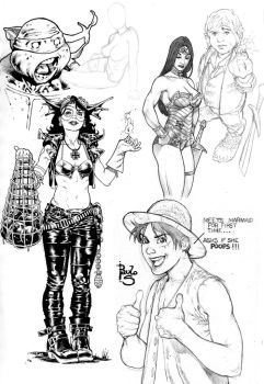 Sketches by PauloSiqueira